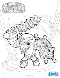 Skylanders Trap Team Coloring Pages For To Print