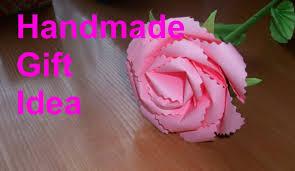Paper Flower Crafts Ideas