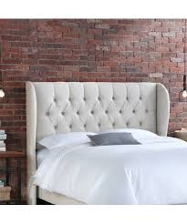 Skyline White Tufted Headboard by Artistic Interior Bedroom Artistic Faux Brick Wall Panels Advice