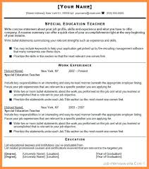 Example Of Resume Summary For Freshers Also General