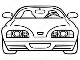 Car For Coloring Book Stock Vector 26597353