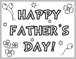 Download Fathers Day Coloring Pages 1