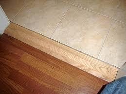 installing kitchen threshold moulding