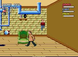 Play Home Alone line GEN Game Rom Sega Genesis Emulation on