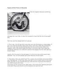 100 Tire By Mark Calamo Types Of Flat S In Bicycles