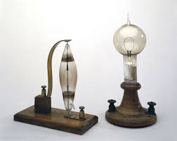 electric lightbulb invented by edison in 1879 it helped