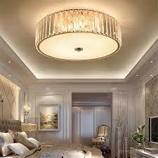 einfache moderne schlafzimmer kristall decken len warme romantische atmosphäre decke leuchtet studie restaurant rund luxus led len