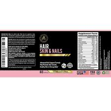 Hair Skin And Nails Supplements For WomenHair Complex Vitamins It Works Growth