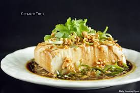 comment cuisiner le tofu steamed tofu daily cooking quest