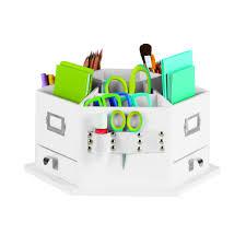 Michaels Art Desk Instructions by Recollections Storage Desktop Carousel