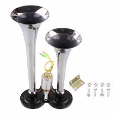 New Arrival 135db Loud Truck Air Horn Dual Trumpet Horns For Car ... Dual Super Loud Blast Tone 12v Electric Grille Mount Compact Horns Red 24v 128db Air Horn Truck Car Trumpet Train 24 Volt Stebel Nautilus 139db Bla Auto Accsories Headlight Bulbs Gifts Single Amazoncom 140db Viair Universal Motorcycle 135db Complete Set 1pcs For 110db Antique Vintage Old Freightliner Classic Xl With Loud Train Horn Mavi Trucking Armed Horns And Their Voices Striking Verizon Workers Tech 12v Truck Air Youtube