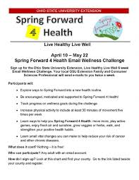 Osu Tech Help Desk by Live Healthy Live Well Challenge Osu Extension Scioto County