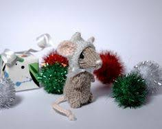from knitted toy box comes this cute little wee mouse get the