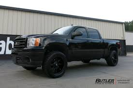 GMC Sierra With 20in Fuel Coupler Wheels Exclusively From Butler ...