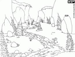 Best Water Landscapes Coloring Pages