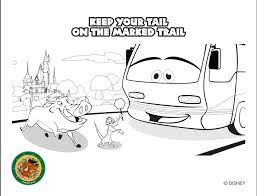 FREE Disney World Coloring Pages Available Here