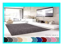 new teporio shaggy teppich flauschiger hochflor f rs