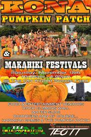 Kohala Pumpkin Patch 2014 by Kailua Kona Community Makahiki Festival Happening This Saturday At