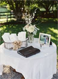 Oh So Sweet Natural Wedding Welcome TableWedding