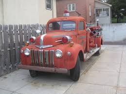 1942-47 Ford Fire Truck | After Getting Our Christmas Tree T… | Flickr