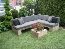 Pallet Patio Furniture Plans by Attractive Outdoor Pallet Furniture Plans Pallet Wood Projects
