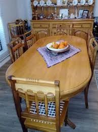Yellow Wood And Blackwood Dining Room Suite Welsh Desser