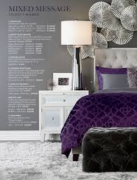 Purple Velvet King Headboard by Z Gallerie The Art Of The Mix Page 58 59
