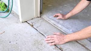 Garage Door Bottom Seal For Uneven Floor by How To Set Concrete To Keep Water Out Of Garage Baton Rouge
