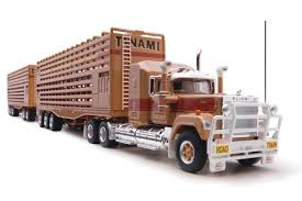 100 Diecast Truck Models PRE ORDER Highway Replicas Livestock Tanami Mack Road Train Die