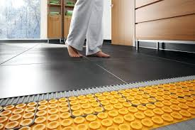 heated bathroom floor cost interior home design