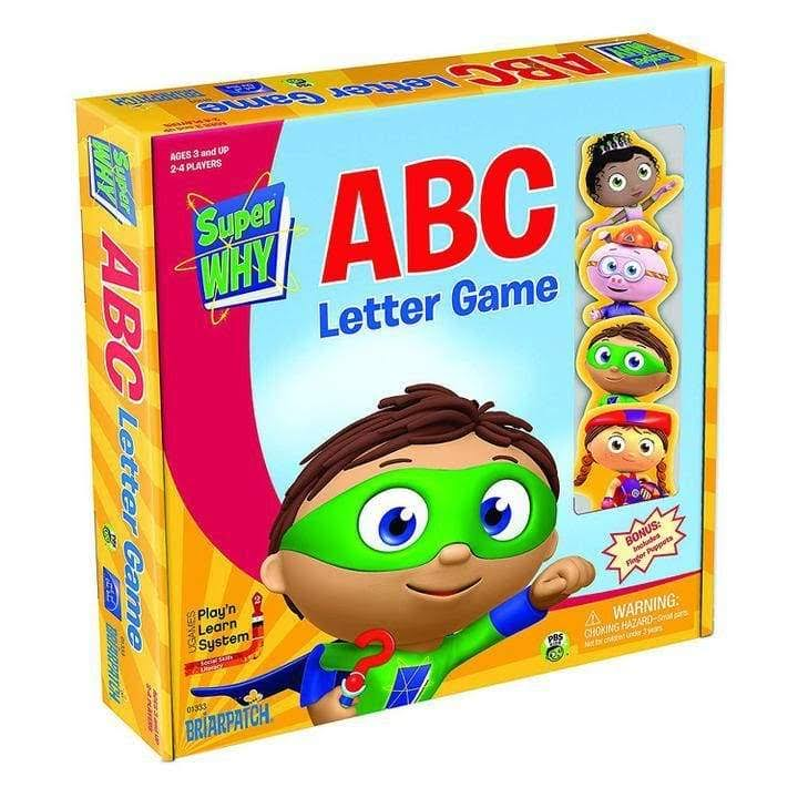 University Games Super Why ABC Letter Board Game