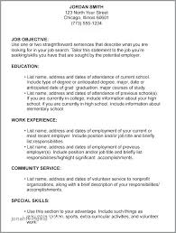 List Of Resume Objectives Objective Examples Fresh Samples Career For