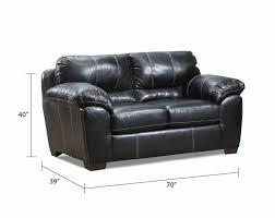 black fabric couch set yahtzee onyx sofa and loveseat american