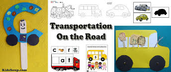 Preschool Transportation Crafts Activities Lessons Games And Printables