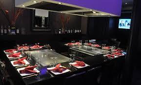 restaurant japonais chef cuisine devant vous le comptoir nippon restaurant japonais de teppanyaki à