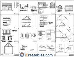 crav detail 10 x 12 gambrel shed plans 6x8 rug