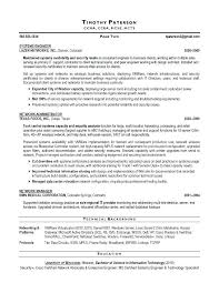 Network Security Resume Objective Objectives