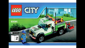LEGO 60081 Pickup Tow Truck Instructions LEGO CITY 2015 Traffic ...