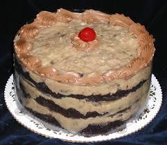 German Chocolate Torte