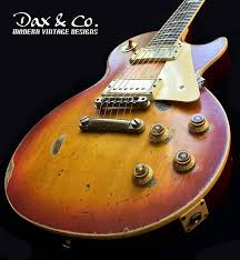 Gibson Les Paul Cherry Sunburst Classic Turned Vintage Standard KILLER DaxCo Relic
