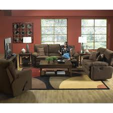Best Fabric For Sofa Set by Catnapper Impulse Reclining Sofa Set Godiva Walmart Com