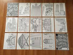 Check Out Chicagos Most Iconic Buildings In Coloring Book Form