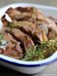 cuisiner souris d agneau au four recette épaule d agneau rôtie au four