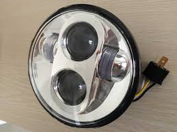 bike nation 5 75 motorcycle chrome projector daymaker led