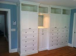 Diy Built Ins Cabinets In Master Bedroom Pictures Custom Plans Dresser Hand Made By
