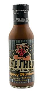 the shed spice it up mustard bbq sauce safford trading company