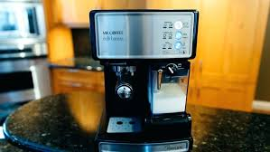 Mr Coffee Espresso Maker Parts Cafe Barista Review An Automatic Machine That Makes Lattes