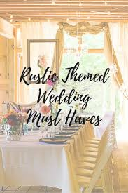 92 Best Rustic Wedding Inspiration Images On Pinterest