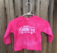 100 Pink Truck Shirt Garbage Shirt Girls Shirt Boys