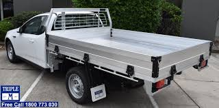 Aluminium Ute Tray With Quick Lock Tech | Triple M Ute Trays ...